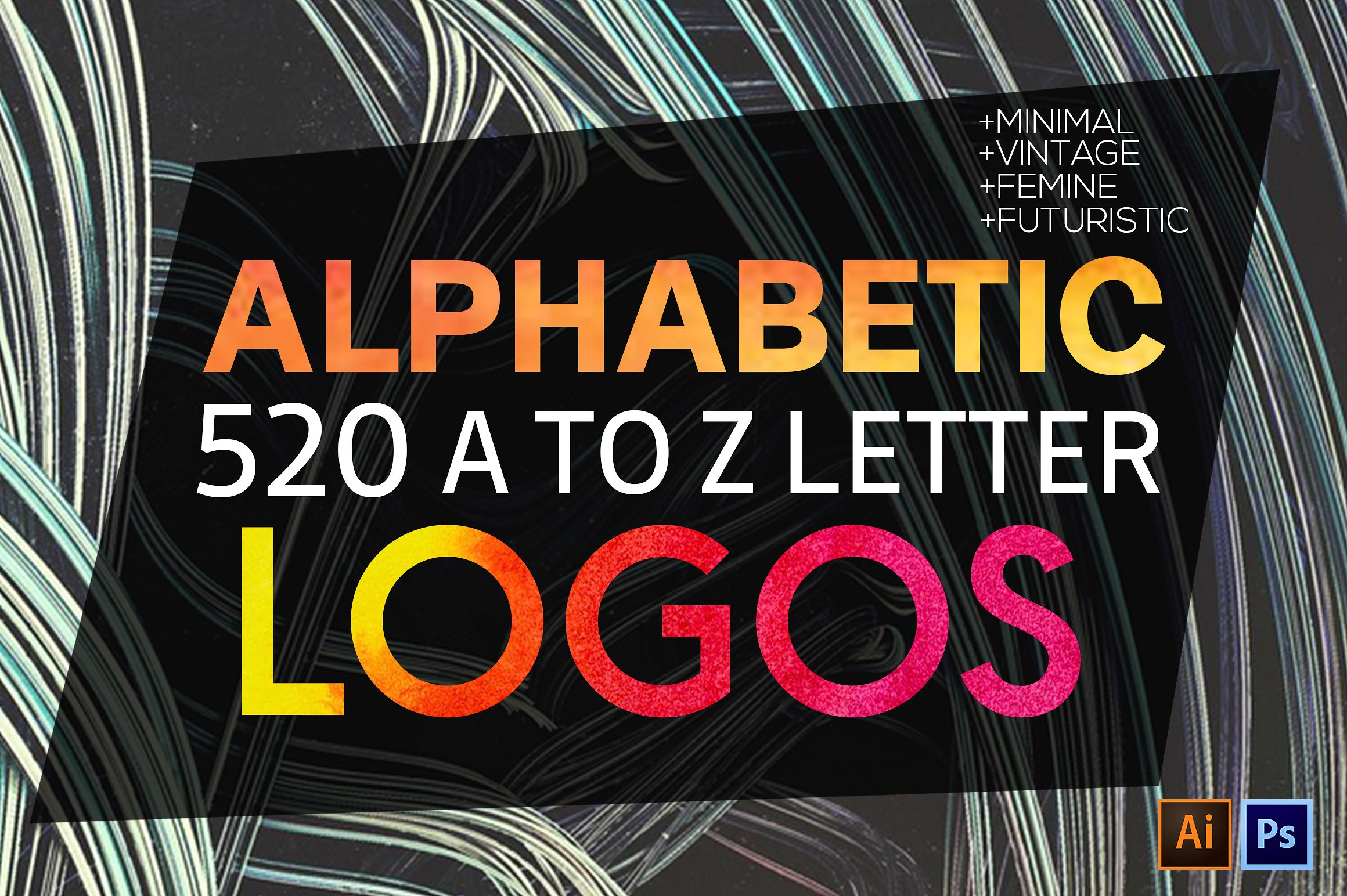 Alphabet A to Z Logo - Graphicx Pack