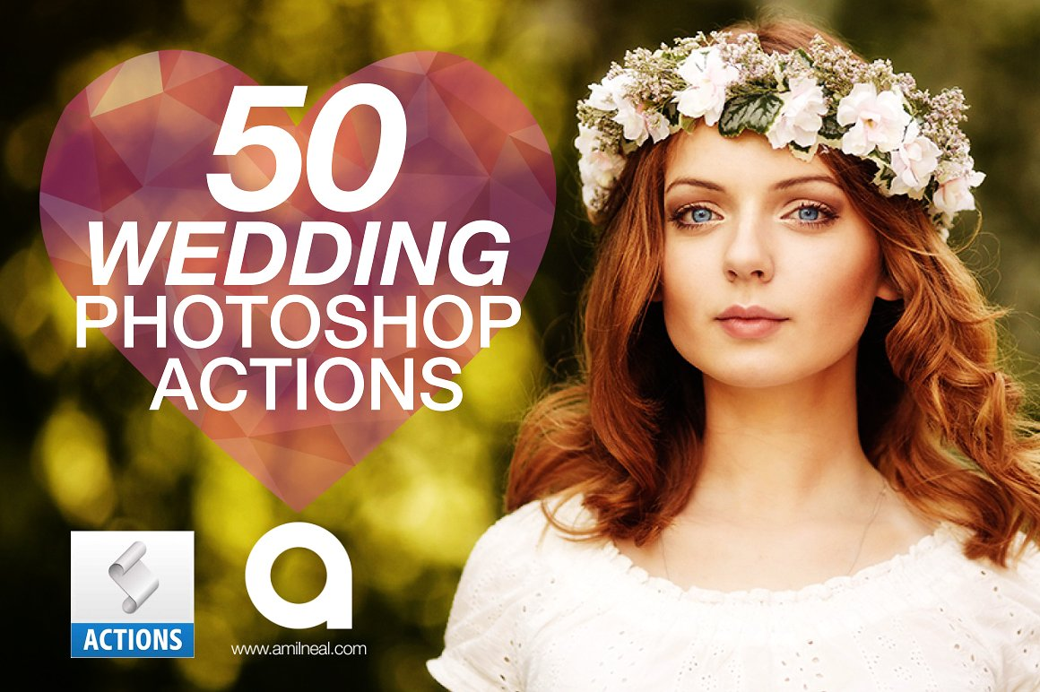 Wedding Photoshop Actions - Graphicx Pack
